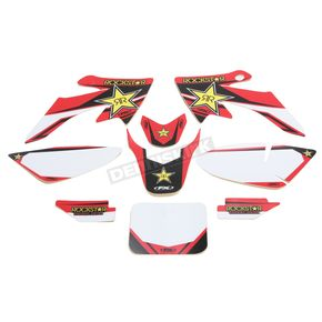 Factory Effex Rockstar Standard Complete Graphics Kit - 20-03350