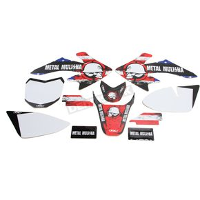 Factory Effex Metal Mulisha Standard Complete Graphics Kit - 20-03356