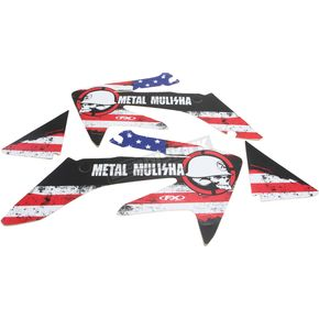Factory Effex Metal Mulisha Standard Shroud Graphics Kit - 20-11322