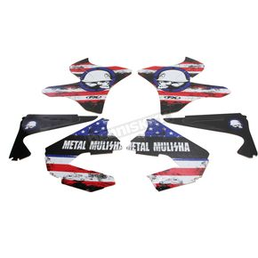 Factory Effex Metal Mulisha Standard Shroud Graphics Kit - 20-11220
