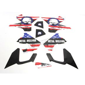 Factory Effex Metal Mulisha Standard Shroud Graphics Kit - 20-11218