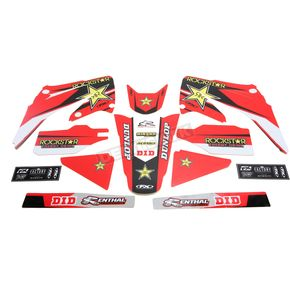 Factory Effex Rockstar Standard Complete Graphics Kit - 20-07320
