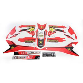 Factory Effex Rockstar Standard Complete Graphics Kit - 20-07338