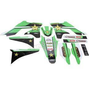 Factory Effex Rockstar Standard Complete Graphics Kit - 20-07130