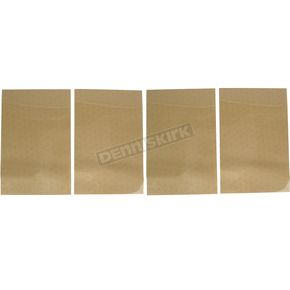 Factory Effex Universal Plate Background-Clear - FX02-6605