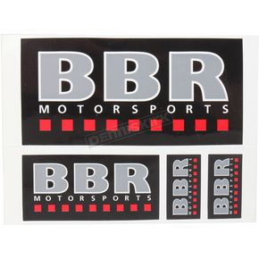 BBR Motorsports Decal Sheet - 710-BBR-2005