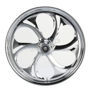 RC Components 21 in. x 2.15 in. Front Chrome Recoil One-Piece Forged Aluminum Wheel - 21215-9003-105C