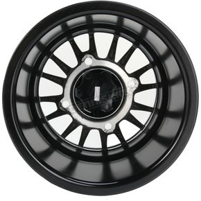 ITP Matte Black 12 in. X 7 in. SD Alloy Beadlock Black Ops Wheel - 1228547536B