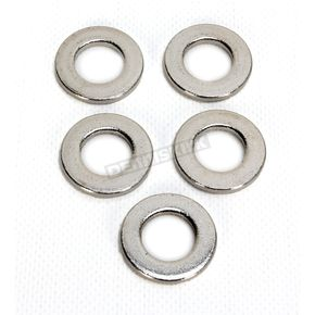 Chrome Front Axle Washers - 0214-0887