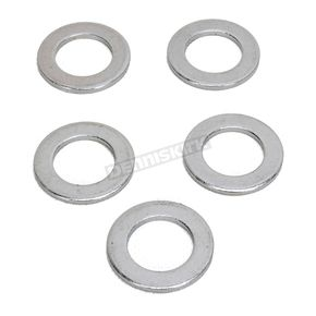 Chrome Rear Axle Washers - 0214-0888