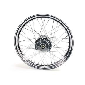 V-Factor Chrome 19x2.5 40 Spoke Front Wheel - 51634