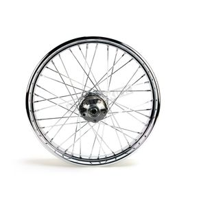 V-Factor Chrome 21x2.15 40 Spoke Front Wheel - 51636