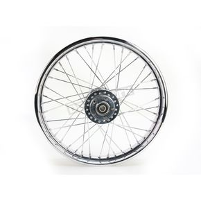 Chrome 21x2.15 40 Spoke Front Wheel - 51640