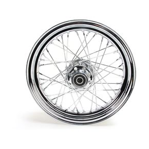 Chrome 16x3.00 40 Spoke Front Wheel - 51644