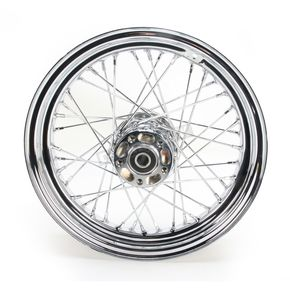 Chrome 16x3.00 40 Spoke Rear Wheel - 51646