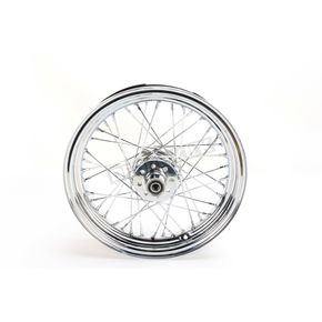 Chrome 16x3.00 40 Spoke Rear Wheel - 51647