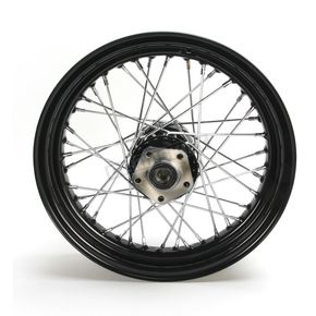 Black 16x3.00 40 Spoke Rear Wheel - 51671