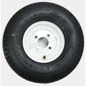 Kenda K353 4-Ply 5.70-8 Tire W/4-Hole Solid Wheel Assembly - 30080