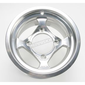 AMS Polished Large Bell Cast Aluminum Utility ATV Wheel - 02300036