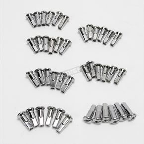 Drag Specialties Standard Chrome Nipples for Drag Specialties Spoke Sets - DS-380112