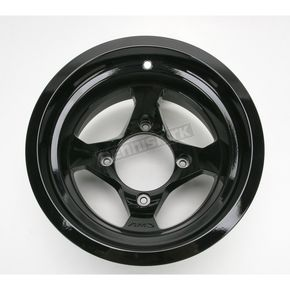 AMS Front/Rear Black Cast Aluminum Utility ATV 12x7 Wheel - 02300088