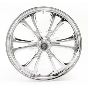 RC Components Chrome 21 x 3.5 Czar One-Piece Wheel for Single Disc - 213503586C
