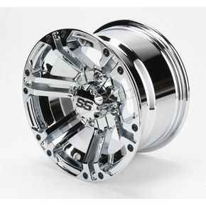 ITP Front/Rear Chrome SS212 Alloy 12x7 Wheel - 1228364402B
