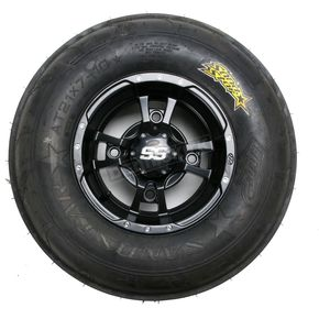 ITP Front Right Sand Star SS 21x7x10 Tire w/SS112 Black Alloy Wheel  - 43343R