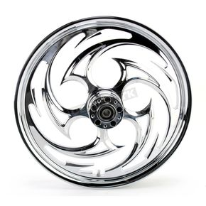 RC Components Chrome 21 x 2.15 Savage One-Piece Wheel - 21215-9913-85C