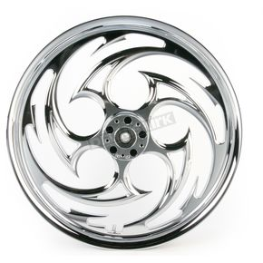 RC Components Chrome 21 x 2.15 Savage One-Piece Wheel - 21215-9903-85C