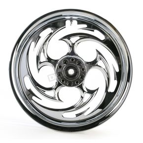RC Components Chrome 16 x 3.5 Savage One-Piece Wheel - 16350-9978-85C