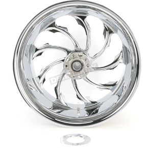 Performance Machine Chrome 18 x 10.5 Custom Torque Wheel for 1 in. Axle - 1274-7834R-TOR1