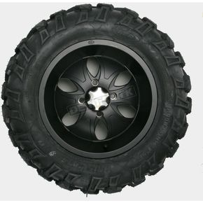ITP Front Left Bajacross 26x10x14 Tire w/Black System 6 Wheel - 44326L