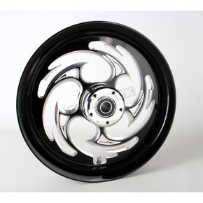 RC Components Black 16 x 3.5 Savage Eclipse One-Piece Wheel  - 16350-9917-85E