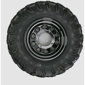 ITP Rear Right Mud Lite AT 25x10-12 Tire w/Black Delta Steel Wheel  - 44834R