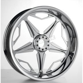 RevTech Chrome 18 in. x 5.50 in. Modular SpeedStar Billet Wheel - 602828
