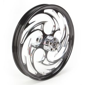 RC Components Front Black 21 x 2.15 Savage Eclipse Forged Wheel - 21215-9008-85E