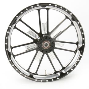 Roland Sands Design 23 in. x 3.5 in. Slam One-Piece Contrast-Cut Aluminum Wheel for Models w/o ABS  - 12027306RSLMBM