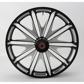 Roland Sands Design 23 in. x 3.5 in. Boss One-Piece Contrast-Cut Aluminum Wheel for Models w/ ABS - 12047306RBSSBM