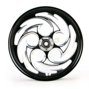 RC Components Black 21 x 2.15 Savage Eclipse One-Piece Wheel  - 212159047-85E