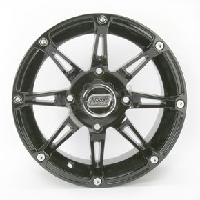 Moose Gloss Black Type 387X Wheel - 0230-0464