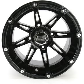 Moose Gloss Black Type 387X Wheel - 0230-0466