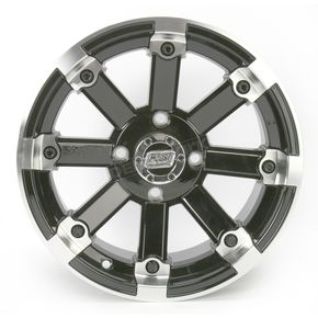 Moose Black 393X Cast Aluminum ATV/UTV Wheel - 0230-0527