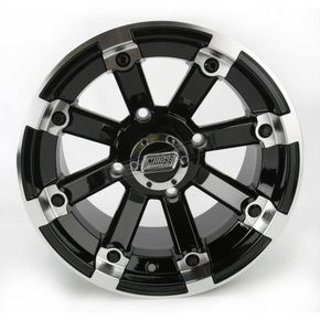 Black 393X Cast Aluminum ATV/UTV Wheel - 0230-0531