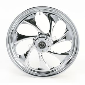 RC Components Front 18 in. x 3.5 in. Drifter One-Piece Forged Aluminum Chrome Wheel - 18350-9917-101C
