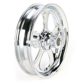 RC Components Front 16 in. x 3.5 in. Nitro One-Piece Forged Aluminum Chrome Wheel - 16350-9916-92C