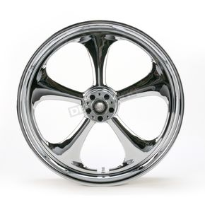 Front 21 in. x 3.5 in. Nitro One-Piece Forged Aluminum Chrome Wheel - 21350-9917-92C