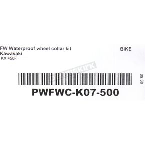 Pivot Works Front Watertight Wheel Collar and Bearing Kit (Non-current stock) - PWFWC-K07-500
