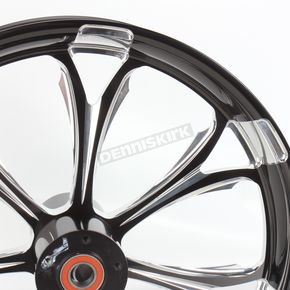 Performance Machine Front Platinum Cut 21 x 3.5 Paramount One-Piece Wheel - 12047106RPARBMP