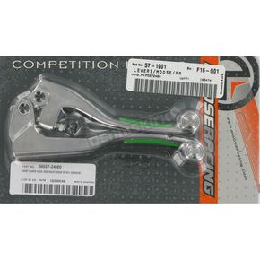 Competition Lever Set w/Green Grip - M557-24-60